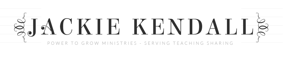 Jackie Kendall - Power To Grow Ministries